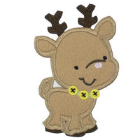 Reindeer Cutie Patch - Sew Lucky Embroidery