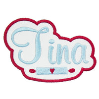 Rolling Pin Name Patch - Sew Lucky Embroidery