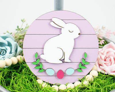 Easter Bunny Tier Tray Sign