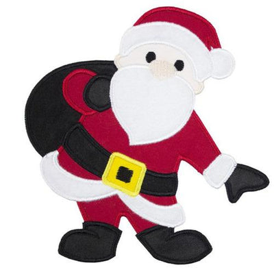Santa with Bag Patch