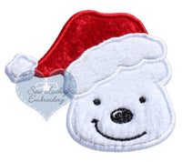Polar Bear Santa Patch
