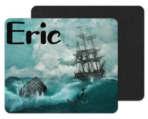 Ship Custom Personalized Mouse Pad - Sew Lucky Embroidery