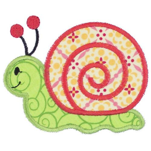 Snail Patch - Sew Lucky Embroidery