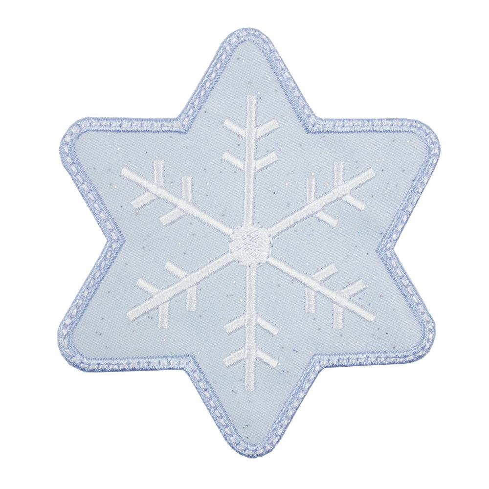 Snowflake Patch - Sew Lucky Embroidery
