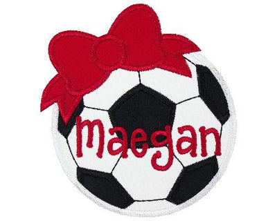 Soccer Ball Personalized Patch