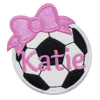 Soccer Ball Personalized Patch - Sew Lucky Embroidery