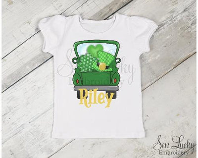 St Patricks Day Truck Personalized Shirt