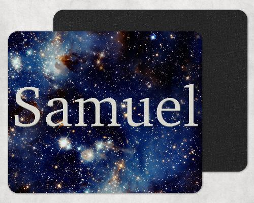 Starry Skies Custom Personalized Mouse Pad - Sew Lucky Embroidery