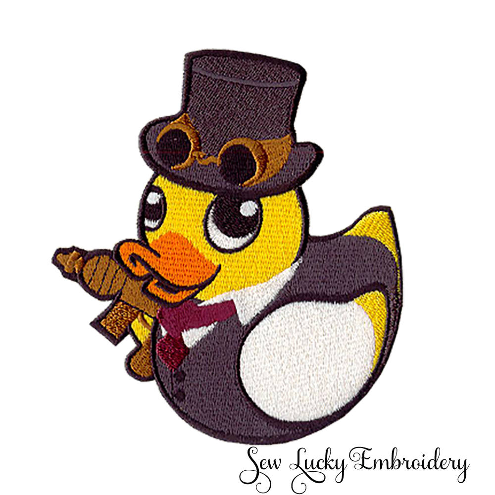 Steampunk Ducky Patch