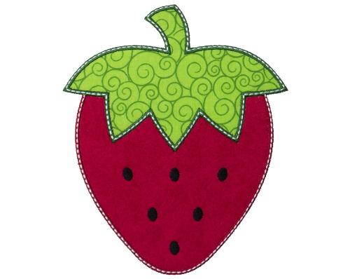 Strawberry Patch - Sew Lucky Embroidery