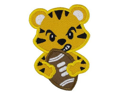 Tiger Football Patch