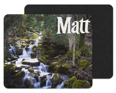 Waterfall Custom Personalized Mouse Pad
