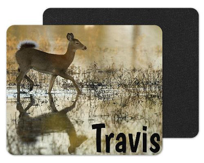 White Tailed Deer Custom Personalized Mouse Pad