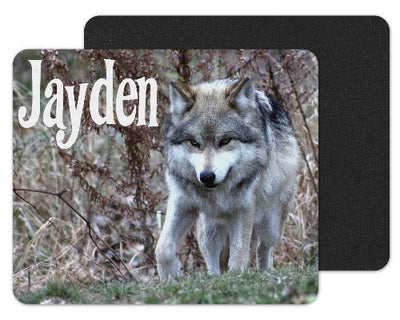 Wolf Hunting Custom Personalized Mouse Pad