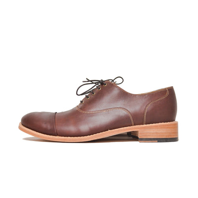 Oxford Cap Toe Caoba