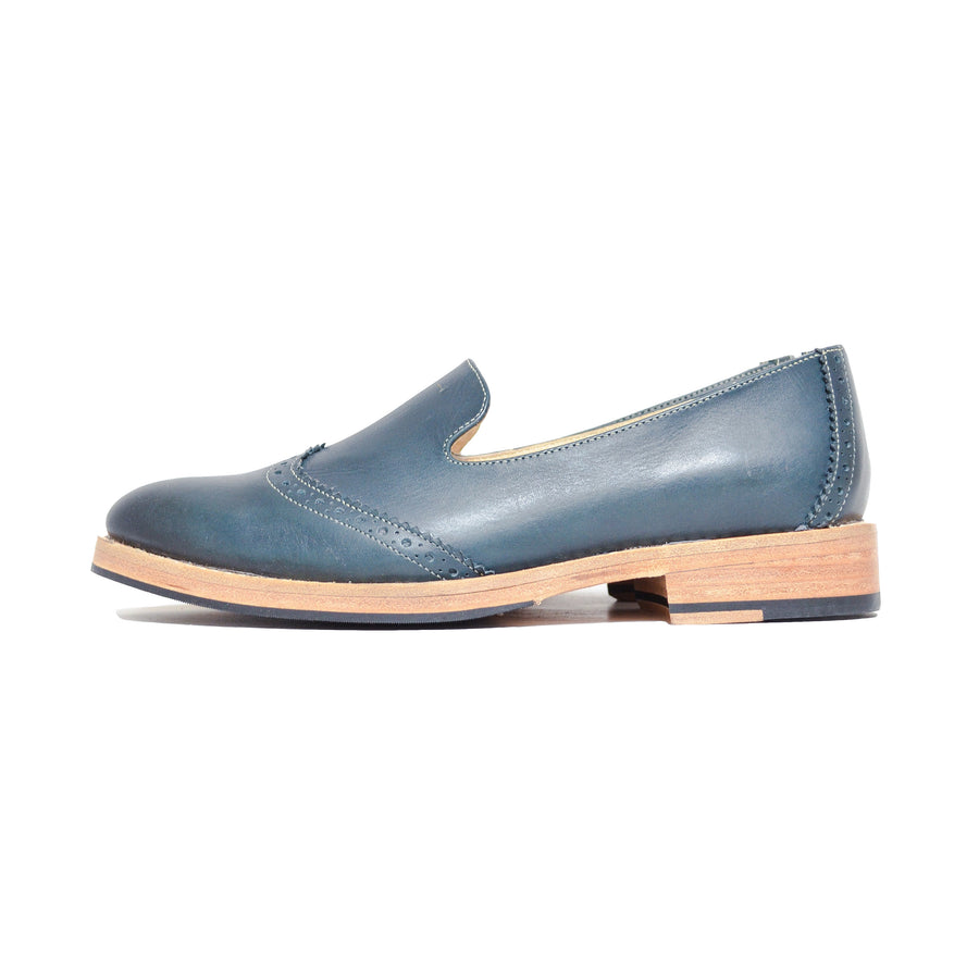 Slipper Wingtip Azul