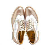 Oxford Wingtip Brogue Rose & Blanco
