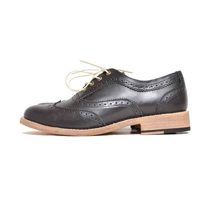 Oxford Wingtip Brogue Negro
