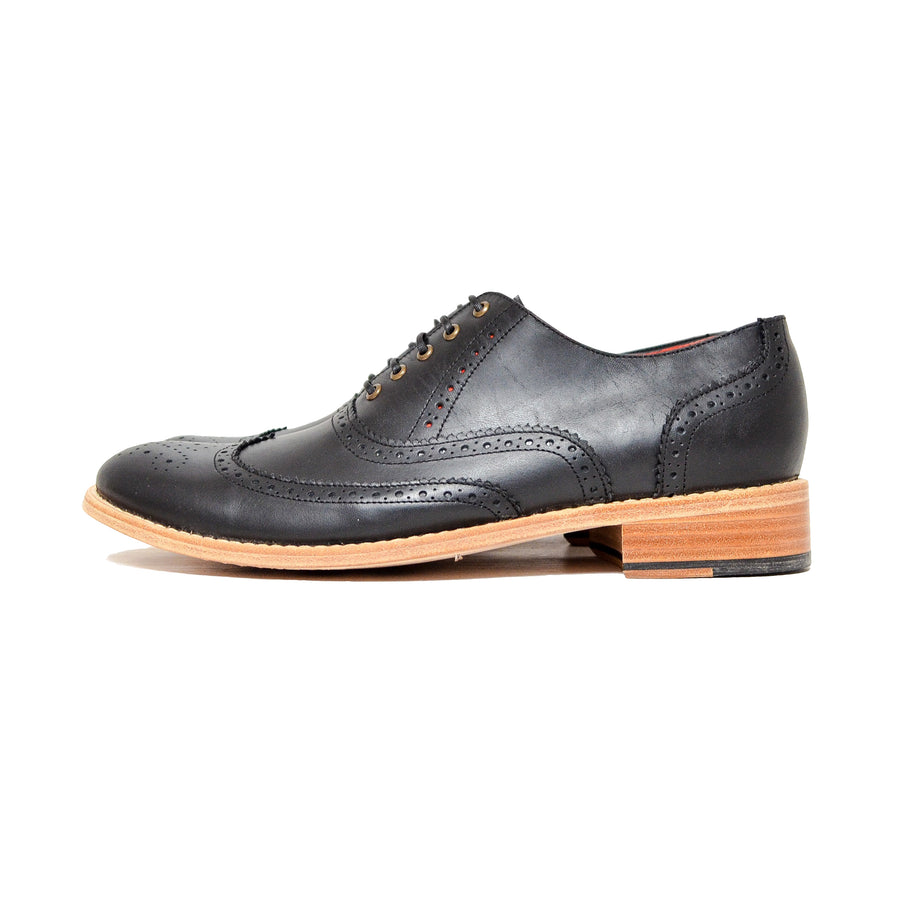 Oxford Wingtip Full Brogue Negro