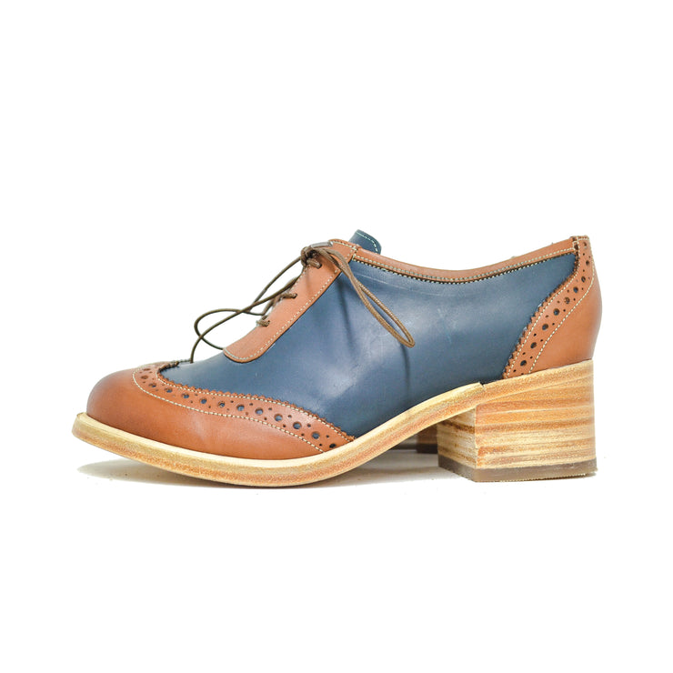 London Oxford Cognac & Azul