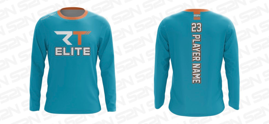 RT Elite Custom S2N Teal Long Sleeve