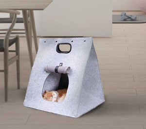 3-in-1 Semi-Round Cat Carrier