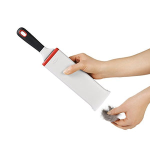 Pet Hair Remover with Pivoting Handle for Furniture
