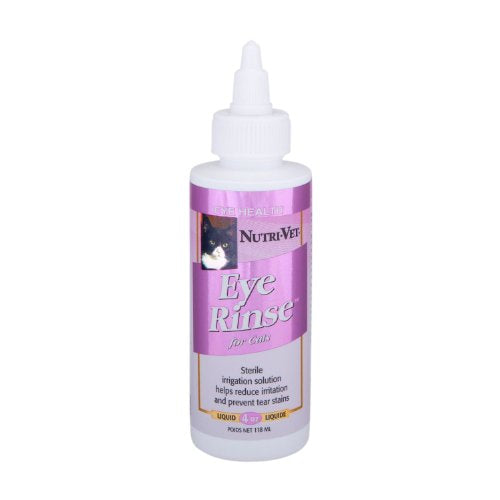 Nutri-Vet Eye Rinse for Cats, Reduces Eye Irritation