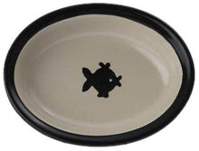 6.25 Simple Oval Cat Dish by Petrageous Designs