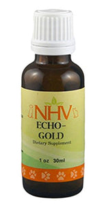 NHV Echo Gold - Cat Ear Drops to Aid Ear Infections & Inflammation