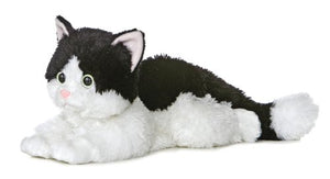 Bean Filled Plush Flopsie Oreo Cat by Aurora