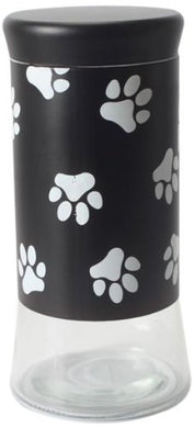 Glass Pet Treats and Snacks Storage Jar, Dishwasher Safe