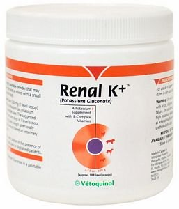 Vet Solution Renal K+, Potassium Supplement for Pets
