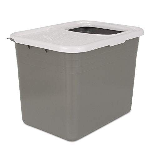 Wide Top Entry Litter Pan by Petmate