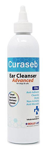 Curaseb | Otic Advanced Cat & Dog Ear Cleaner, Broad Spectrum Formula