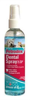 Petrodex Dental Spray for Cats & Dogs, Controls Tartar