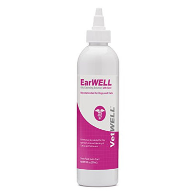 EarWELL Otic Cleansing Solution for Cats & Dogs