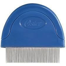 Oster Animal Care Flea Comb for Cats. Blue