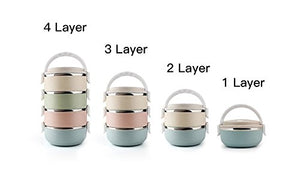 4 Layer Portable Food Bowl