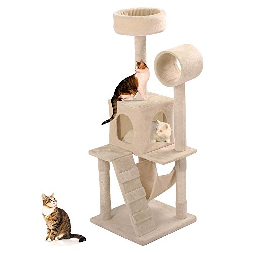 Yaheetech Scratcher Condo Furniture Cat Tree