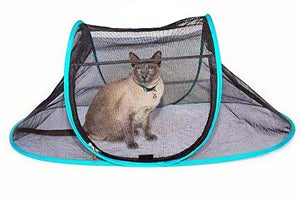 Cat Enclosure Tent for Indoor Cats, Portable