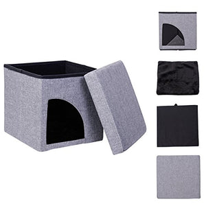Soft Cat Cube Bed