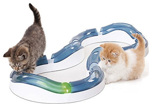 8-piece Roller Circuit Cat Toy