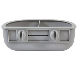 Two Compartments Diner Bowl by Petmate