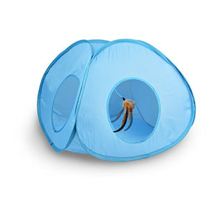 Electronic Action Cat Tent Toy
