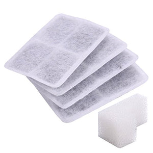 Activated Carbon Filter and Foam Filter for Pet Water Fountain