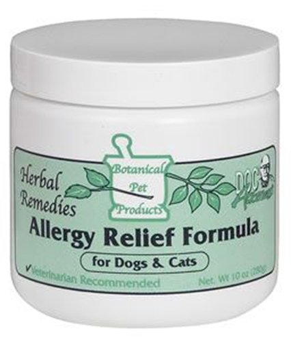 Allergy Relief Formula, Gerbal Remedies for Pets