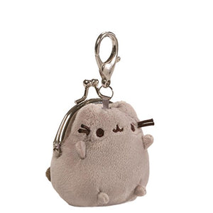 Pusheen Mini Coin Purse Plush by Gund, Surface-washable