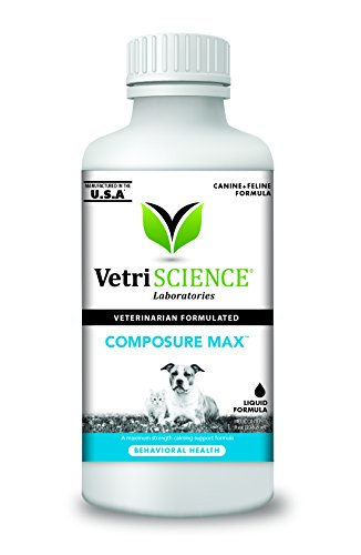 VetriScience Laboratories- Composure MAX, Calming Support Formula for Pets