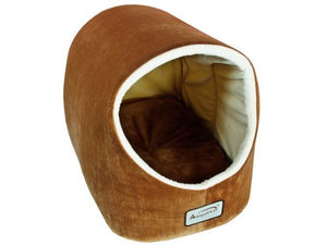 Soft Velvet Cat Cave Bed